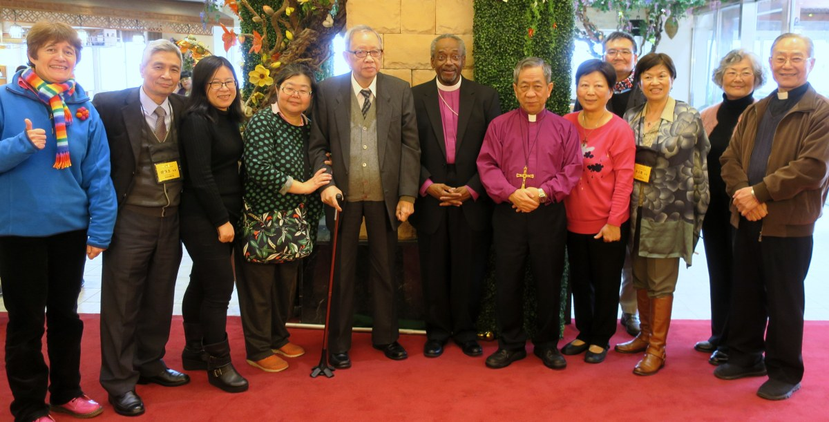 Welcoming Presiding Bishop Michael Curry 美國聖公會主席主教孔茂功 to Taiwan!
