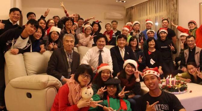 Advent & Christmas 2017 @ St. John's University (SJU) & Advent Church, Taiwan