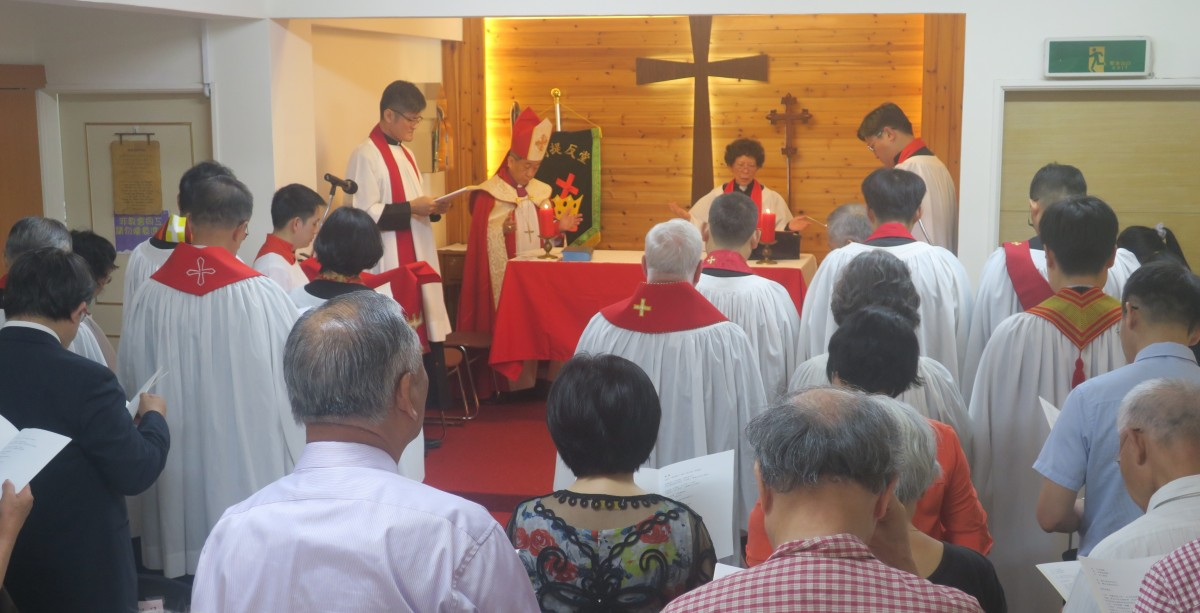 St. Stephen's Episcopal Church, Keelung ~ Tenth Anniversary Celebrations 聖司堤反堂建堂10週年感恩禮拜 Congratulations!