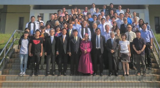 Bishop David J. H. Lai assumes the position of Chair of St. John's University Board of Trustees 賴主教 榮信董事 就任聖約翰科技大學 董事長感恩禮拜 Thanksgiving Service @ Advent Church, Taiwan