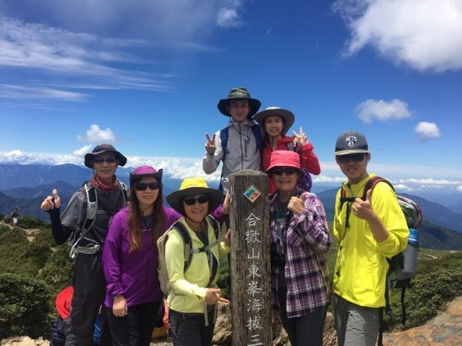Hehuanshan 合歡山 Main Peak 主峰 (3,417m), East Peak 東峰 (3,421m) and Mt. Shimen 石門山 (3,237m)