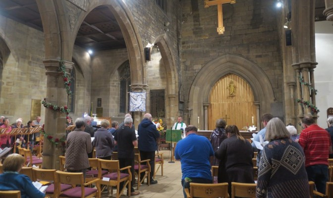 St. Thomas, Batley & Dewsbury Minster: CMS Link Visits @ God's Own Country!