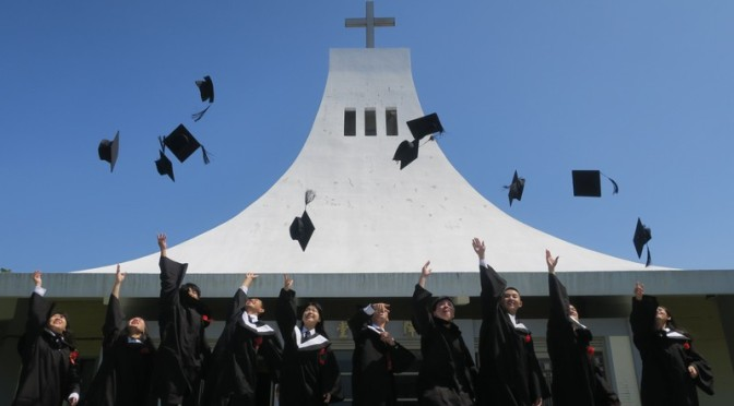 St. John's University, Taiwan: Graduation 2019!
