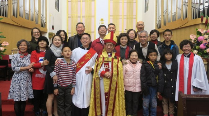 陳銘佑傳道按立會吏聖職典禮 Congratulations to Rev. Chen Ming-You on his Ordination as Deacon!