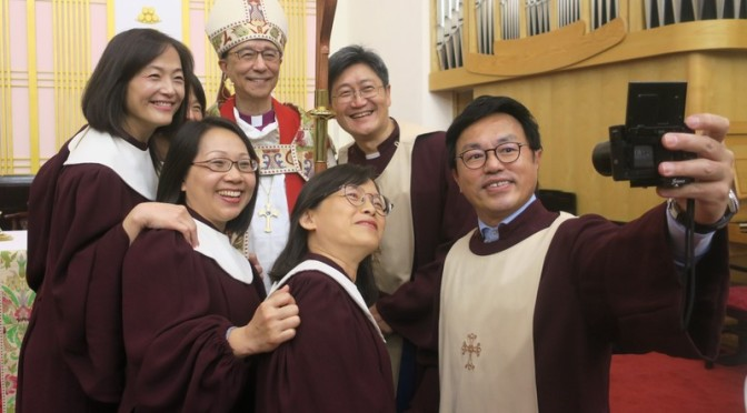 Lennon Yuan-Rung Chang 張員榮 consecrated and installed as bishop of Taiwan!