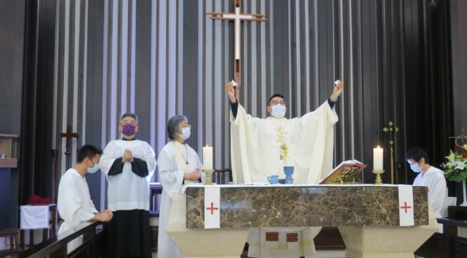Update from Taiwan: Masked Communion in a Time of Coronavirus 😷