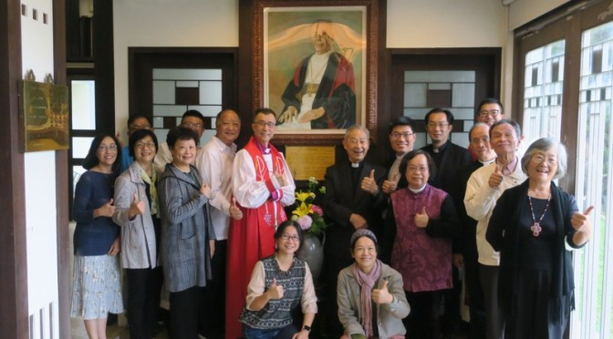 50th Anniversary Thanksgiving Service for Bishop James C. L. Wong (1900-1970) 王長齡主教逝世 50 周年紀念感恩禮拜