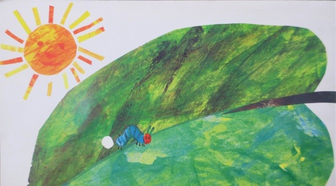 🐛 The Very Hungry Caterpillar ….. and other news from Taiwan 🦋
