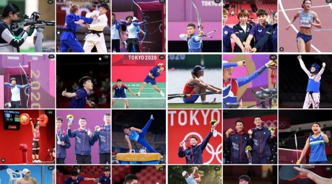 Congratulations on 10 (now 12!) Olympic Medals🥇🥇🥈🥈🥈🥈🥉🥉🥉🥉🥉🥉Update from Taiwan 😷